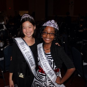 2012 NAM Thanksgiving Jin Mei Howell Young, Miss Oakland,Ca, Jr. Pre Teen Bradley Jenkins, Miss Greensboro, Jr. Pre Teen