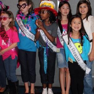 2012 NAM  Rehersals - Bradley Jenkins, Miss Greensboro Jin Mei Howell Young, Miss Oakland  Marissa Hitt, Miss Shawnee Ryanne Hernandez, Top Model, Casual Wear, South Texas