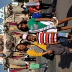 My aunt Ashleigh and brother at Disneyland-Deja kenion