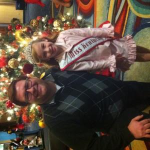 Lexi and Mr. Matt!  Team Leverton!