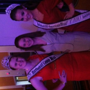 Haylee tingle with the national queens