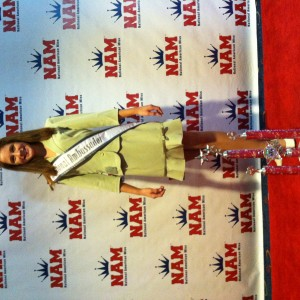 Haylee tingle at the red carpet room