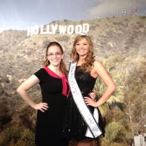 sister and I in red carpet room!