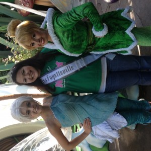 Tinkerbell, myself and Periwinkle at Pixie Hollow!