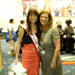 Miss Tx Jr Teen Shelby Feil with Kathleen Mayes