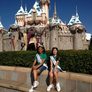 2012 Disney Castle -  Jin Mei Howell Young, Miss Oakland, Jr. Pre Teen,Joi Johnson Florida National cover girl, Jr pre-teen.