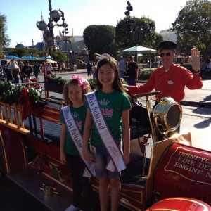 2012 Disney - Jin Mei Howell Young, Miss Oakland,  Kendall Hancox Miss East Palestine Jr Pre-teen