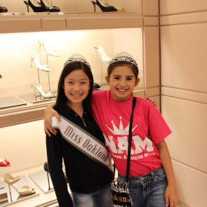 Shoe Shopping, NAM 2012- Jin Mei Howell Young, Miss Oakland Ryanne Hernandez, Top Model, South Texas