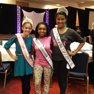 Deja Kenion and both reigning National Queens