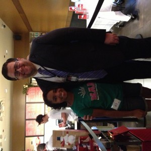 NC state director Matt Yelverton and Deja Kenion