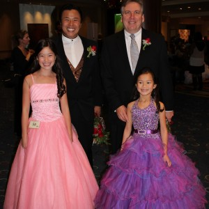 2012 NAM Nationals Jin Mei Howell Young, miss Oakland, Jr PreTeen, Marissa Hitt, Miss Shawnee, jr. Pre Teen