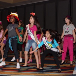 2012 NAM Rehersals  Bradley Jenkins, Miss Greensboro Jin Mei Howell Young, Miss Oakland  Marissa Hitt, Miss Shawnee