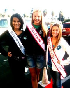 Kailee Horvath with Pre-Teen Queens Shereen and Regan