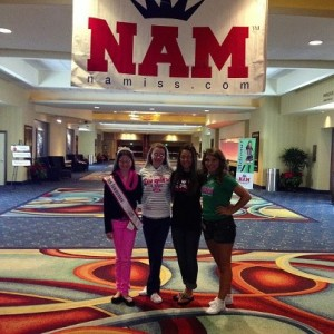 Team TN 2012 NAM Nationals with Taylor Parsons, Anna Grace Smith, Alex Wallace and Sarah Ford