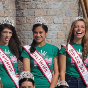 Candid shot of 2012 Miss queens