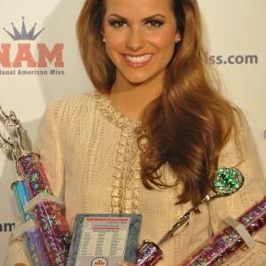 Camille Schrier Red Carpet Awards 2012