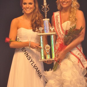 Camille Schrier 1st Runner Up National Teen 2012 with Jena Diller