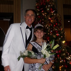 Mr Mayes with Brittney Johnson AZ Pre-teen