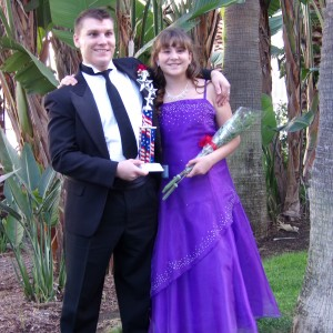Brittney Johnson Az Pre-Teen with her escort brother Nicholas