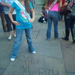 Brittney Johnson AZ Per-Teen Hollywood tour 2013