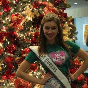 Teen Contestant Lauren Schwartzberg after the actress competition!