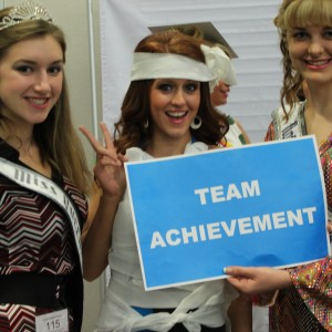 Teen Team Achievement fashion show!