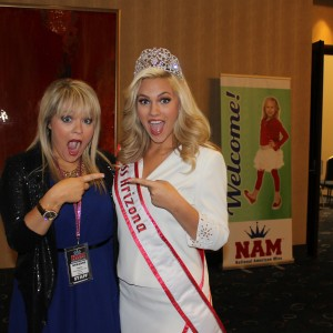 Miss Arizona Kelly Seiberlich with Breanne Maples