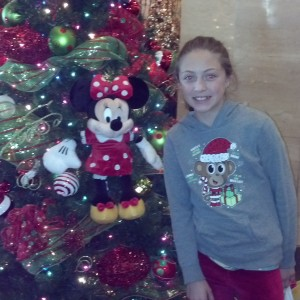 Jr. Pre Teen Sienna Larson from nevada so excited for christmas