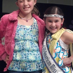 Jr. Pre Teen Sienna Larson from nevada with National all american queen