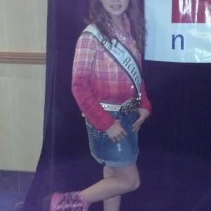 Jr. Pre Teen Sienna Larson from nevada state pride rehersal.