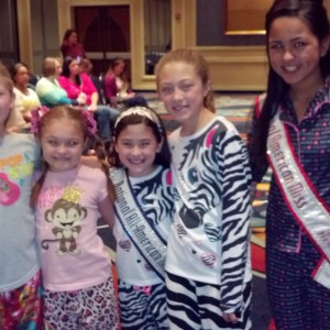 Jr. Pre Teen Sienna Larson from nevada sporting her pjs