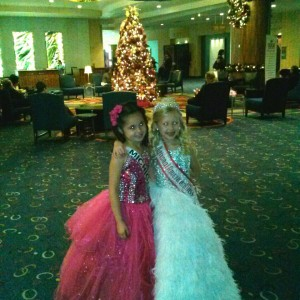 Selena & Maddison after Formal Wear !