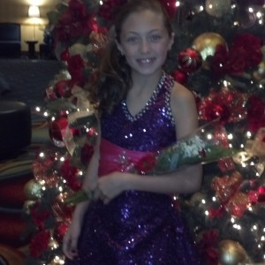 Jr. Pre Teen Sienna Larson from nevada ready for the runway