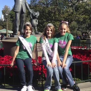 Friends at Disney