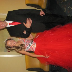 WI Pre-Teen Olivia Lulich ready for Formal Wear
