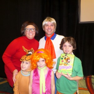 Princess Ashley Black and Family; Scooby and the Gang