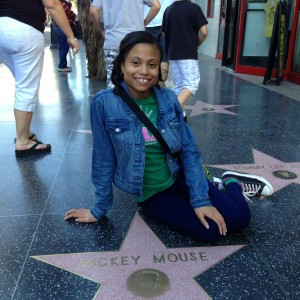 Chelsie Beavers in Hollywood