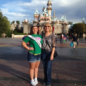 Christy Murtha and Mom making memories