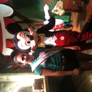 Colleen F with Mickey