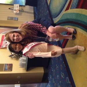 Miss Texas Princess Kristel  with Her State Director Kathleen Mayes!
