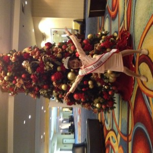 Miss Texas Princess Kristel excited for Christmas!