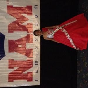 Miss Texas Princess Kristel in her formal wear!