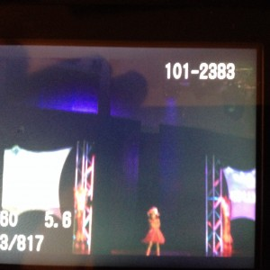 Miss Texas Princess Kristel with her casual wear on a runway!