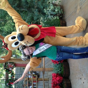 JR Pre-teen Emily Smith with Pluto!!