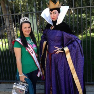 Miss Georgia Stephanie Vazquez with the Malificent