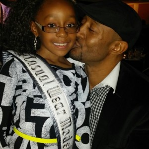 National All American Princess with her father!