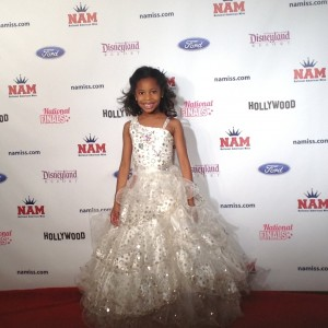 NC Cover Girl Princess Amaris Shipman in her formal wear!