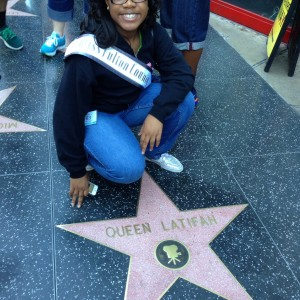 Alayna Tobo @ Hollywood STAR of Queen Latifah