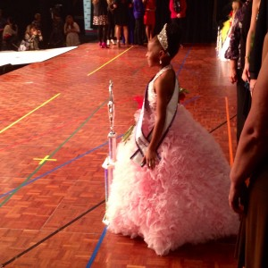 National All American Princess Skyla Woodard