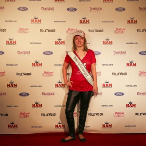 Krystal Donovan in the Red Carpet Room